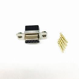 DB9 冷压端子包线 插头